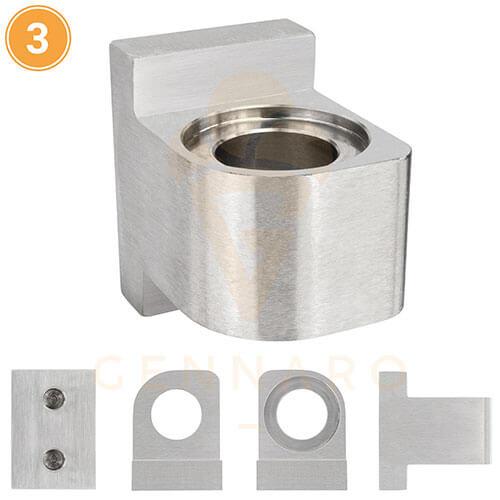 Griff Türverschluss für Frigomat Titan Ersatzteil Eismaschine Original P02.155